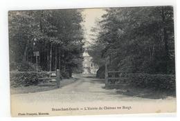 Brasschaat Brasschaet-Donck - L'Entrée Du Château Ter Borgt 1911 - Brasschaat