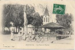 ALGERIE BIRTOUTA La Place De L' Eglise - Autres Villes