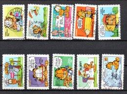 B373-7 France Oblitéré N° 4271 à 4280 - France