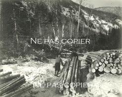 SHELTER BAY 1929 Bucheron Bois CANADA Colombie Britannique - Plaatsen