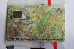 PF 25 -  TELECARTE DE POLYNESIE  N/S/B - Polinesia Francese