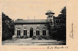 Gand Belvédère Au Parc édit. Van Melle - Gent