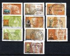 B373-7a France Oblitéré N° 4002 à 4011 - France