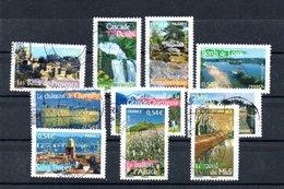 B373-9 France Oblitéré N° 4014 à 4023 - Used Stamps