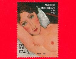 Nuovo - MNH - ITALIA - 2020 - 100 Anni Della Morte Di Amedeo Modigliani, Pittore – Nudo Femminile - A - 6. 1946-.. Republic