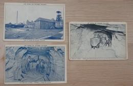 France (68) - Les Mines De Potasse D'Alsace - Lot De  Cartes Postales - 2 Scans. - Miniere