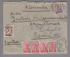 Angola 1935-11-04 Loanda R-Brief Nach Berlin - Angola