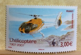 Poste Aérienne L'hélicoptère 2007( Neuf (Y&T N°70)- Coté 8€ (Tous De Bonne Qualité Garantie) - 1960-.... Neufs