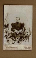 Ancienne Photo Genre Cdv Grand Modéle,militaire,photographe L.Girardot à Verdun - Guerra, Militares