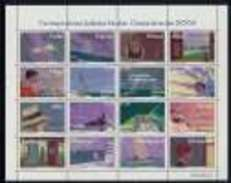 Año 2004 Nº 4065/8 Correspondencia Epistolar Escolar (MNH) - Blocs & Hojas
