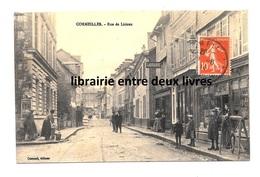 CPA 27 Cormeilles Rue De Lisieux Librairie Commerces Vue Peu Courante ! - Frankreich