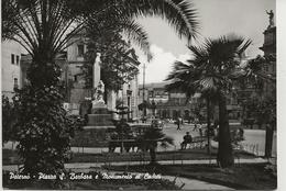 Paternò - Piazza S. Barbara E Monumento Ai Caduti - H6109 - Catania