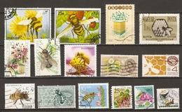 Abeilles - Apiculture - Petit Lot De 15° - Miel - Bienen