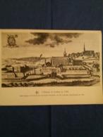 (T1) L'Abbaye De Lobbes En 1740. - Lobbes