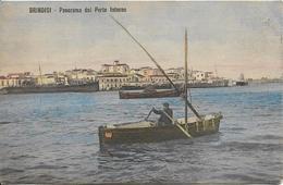 BRINDISI Panorama Dal Porto Interno - Italie