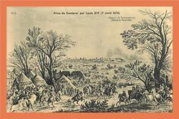 A186 / 301 59 - Prise De CAMBRAI Par Louis XIV ( 7 Avril 1676 ) - France