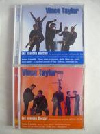 VINCE TAYLOR - Rock'n'Roll - Lot De 2 CD Soit 47 Titres Donc 10 Inédits - Les Séances Barclay 2000 - Détails 2éme Scan - Collectors