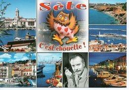 SETE - PORT DE COMMERCE - GEORGES BRASSENS - Sete (Cette)