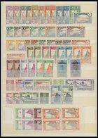 NIGER **,* , 1926-40, Fast Nur Postfrische Partie Mit Bogenteilen, Fast Nur Prachterhaltung - Niger (1921-1944)
