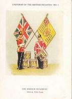 CPSMGF ( Uniformes )  UNIFORMS OF THE BRITISH INFANTRY ( 8 CARTES )(série Complete)  (n°9 ) - Uniformes