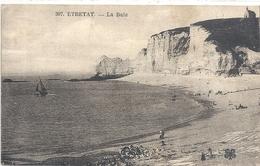 307. ETRETAT . LA BAIE  . JOLI AFFR AU VERSO DU 16 JUIN 1926. 2 SCANES - Etretat