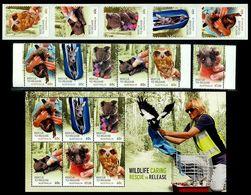 Australia Rescue To Release,Wild Animals,Koala,Kangaroo,Owl,Bird,Wombat,MNH - Eulenvögel
