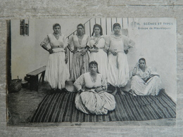 TUNISIE                      SCENES ET TYPES                GROUPE DE MAURESQUES - Tunesien