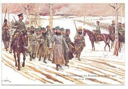 Cpa..illustrateur Lalauze Alphonse..prise De Przemysl (pologne) Par Les Russes Le 21 Mars 1915...animée... - Illustrateurs & Photographes
