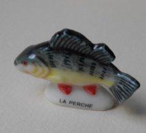 Fève 2001 Les Poissons De Rivière * La Perche (T 1051) - Animali