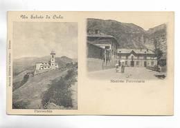 ITALIE - Un Saluto Da OULX - Parrochia - Stazione Ferroviaria - Carte Précurseur - Italie