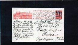 CG6 - Svizzera - Cartolina Postale - Annullo Di Wadenswil 11/4/1925 Per Intra (IT) - Postmark Collection