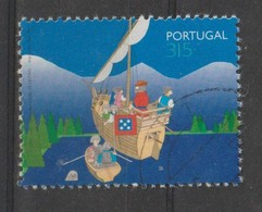 PORTUGAL CE AFINSA 2345 - USADO - SELO DO BLOCO - 1910 - ... Repubblica