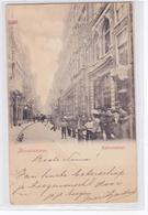 Amsterdam Kalverstraat Levendig Reclame Singer Naaimachines # 1899    1805 - Amsterdam