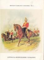 CPSMGF ( Uniformes )  BRITISH YEOMANRY UNIFORMS( 8 CARTES )(série Complète) (n°10 ) - Uniformes