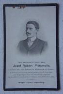 Mortuaire Professeur Athénée De CHIMAY GLABBEEK ZUURBEMDE Region Tienen Leuven 1881 Chimay 1909 - Todesanzeige