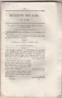 Bulletin Des Lois 1192 De 1845 Budget 1842 - Débarcadère à Port Maubert Charente Inférieure  Péage - Décrets & Lois