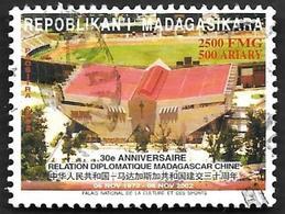 MADAGASCAR  2002  - YT 1839 - Anniversaire Des Relations Diplomatiques Avec La Chine  - Oblitéré - Madagascar (1960-...)