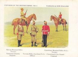 CPSMGF ( Uniformes )UNFORMS OF THE   BRITISH EMPIRE ( 2 Cartes)(n°11 ) - Uniformes