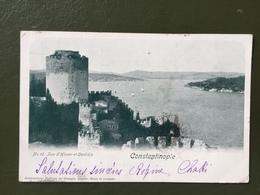 CONSTANTINOPLE- Tour D'Hissar Et Canlidja - Turkey