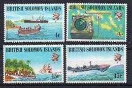 ILES SALOMON - SOLOMON ISLANDS - 1974 - SHIPS AND NAVIGATORS - BATEAUX ET NAVIGATEURS - - Salomon (Iles 1978-...)