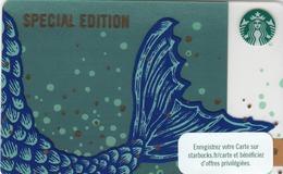 FRANCE STARBUKS - Anniversary Blend 2019 , CN: 6169, Unused - Cartes Cadeaux