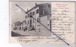 Italie .Migliaro (Ferrara) Palazzo Motta . Residenza Azienda Gallare (carte Précurseur De 1902) - Ferrara