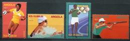Angola Mi# 1102-5 Postfrisch MNH - Olympics Atlanta 1996 - Angola