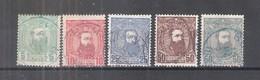 Congo Belge - 6/10 - Obl/gest/used - 1884-1894 Precursors & Leopold II