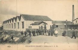 Dep - 94 - VILLENEUVE TRIAGE Ateliers Du P. L. M. - Other Municipalities
