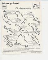 Circuits Européens Motocyclisme Sport 01-FICH-Moto-1 - Sports