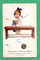 Carte Illustrée  Illusrated Post Card Mabel Lucy Attwell - Attwell, M. L.
