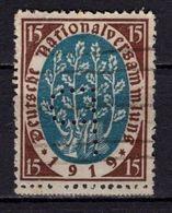 Nationalversammlung, Perfin Firmenlochung, P Photochemie, Berlin (90175) - Gebruikt