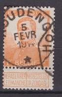 N° 116 TELEGRAPHIQUE HOUDENG - 1912 Pellens