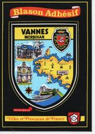 VANNES - BLASON ADHÉSIF - Vannes
